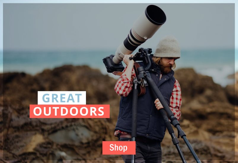 Browse Great Outdoors Products