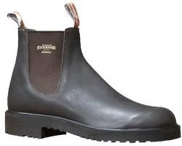Picture of RMW Stockyard Elastic Side Work Boots - FREE SHIPPING