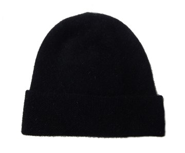 Picture of MKM Black Possum Merino Beanie