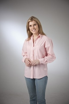 Picture of Check Classic Blouse Cotton Rich Australian Made