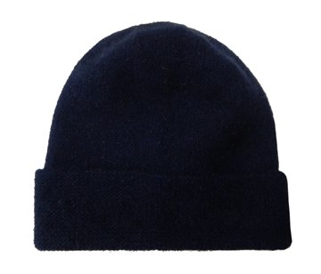 Picture of MKM Navy Possum Merino Beanie