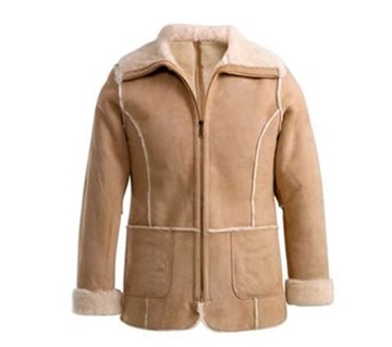 Picture of Misa Ladies Sheepskin  Jacket by Wild Goose JDF-MIS