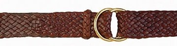 Picture of Badgery Longreach - Plaited Kangaroo Leather Belt