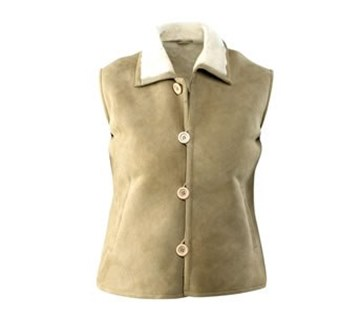 Picture of Classic Sheepskin Vest VT-301 Unisex