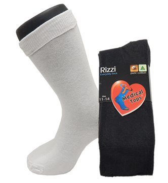 Picture of Rizzi Pure Cotton Medical Top Dress Sock