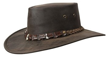 Picture of Barmah Outback Crocodile Hat 3 Croc Teeth Band