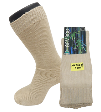 Picture of Rizzi Bamboo Medical Top Work Sock
