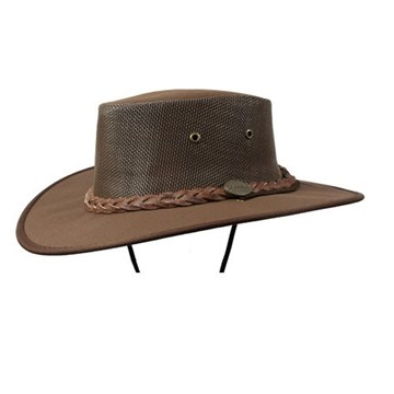 Picture of Barmah Canvas Drover 1057 Hat