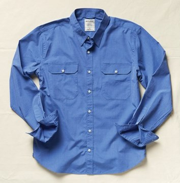 Picture of Driza-Bone Richmond Shirt mid blue