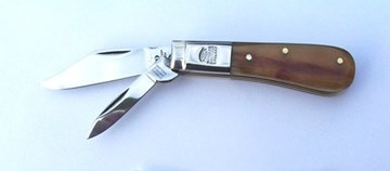 Picture of Ram Horn Handle Pocket Knife PC421