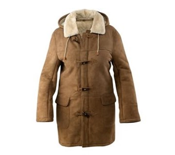 Picture of JDF-KEL Kelly Long Sheepskin Jacket by Wild Goose
