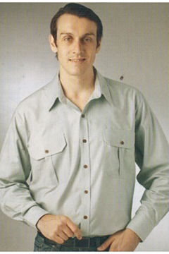 Picture of Plain Oxford Countryman Shirt