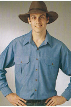 Picture of Chambray Countryman Shirt