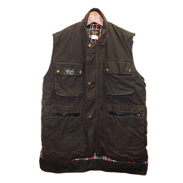 Picture of Wild Rider Oil Skin Vest