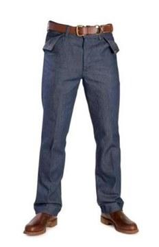 Picture of RM Williams Blue Denim Rider Jeans TT047