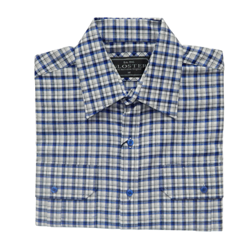 Picture of Gloster Blue & Gray-Scale Winter Shirt