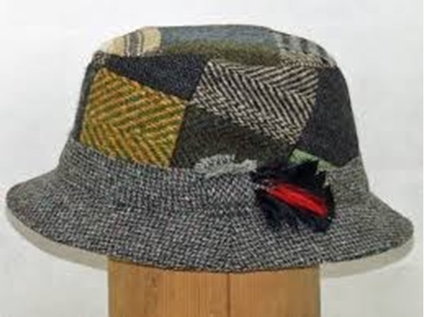 Picture of Hanna of Donegal Tweed Walking hat 05b209c6034