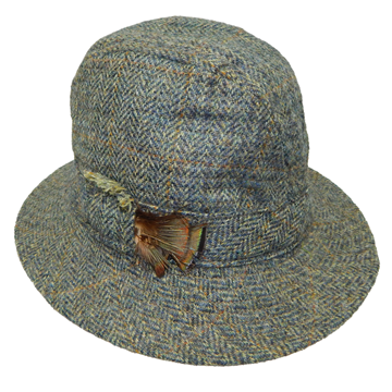 Picture of Hanna Plain Tweed Walking Hat