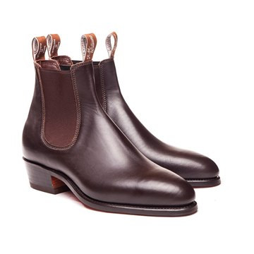 Black RM Williams Hallett Boot