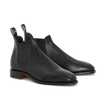 Black RM Williams Sydney Boot