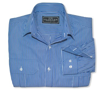 Picture of Gloster Navy/White Stripe Shirt