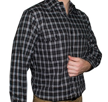 Picture of Gloster Black/White Stripe Shirt