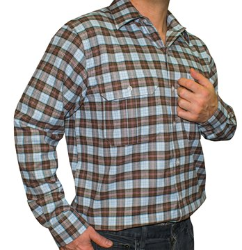 Picture of Gloster Red/Brown/Blue Shirt