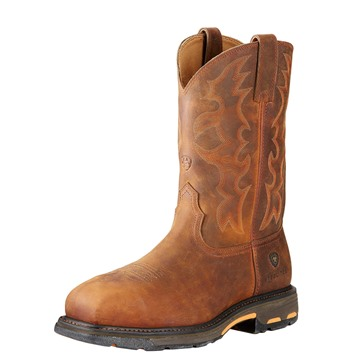 ARIAT MNS WORKHOG WST STEELTOE FRONT