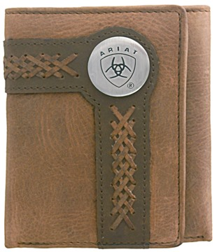 Picture of Ariat Tri-fold Wallet - Chestnut