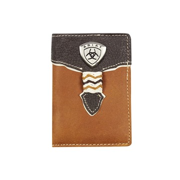 Picture of Ariat Tri-fold Wallet - Brown