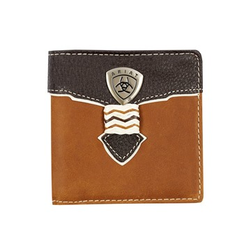 Picture of Ariat Bi Fold Wallet - Brown