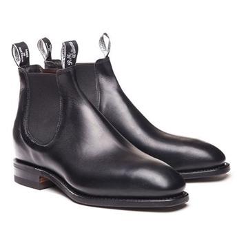 Black RM Williams Blaxland Boot
